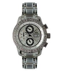 Prime silver-tone dial watch