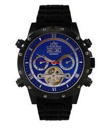 Conqueror blue dial watch