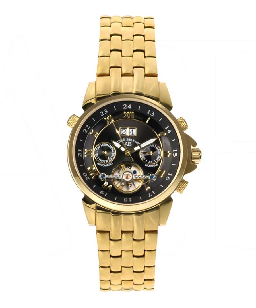 Étoile Polaire gold-tone steel watch Sale - andre belfort