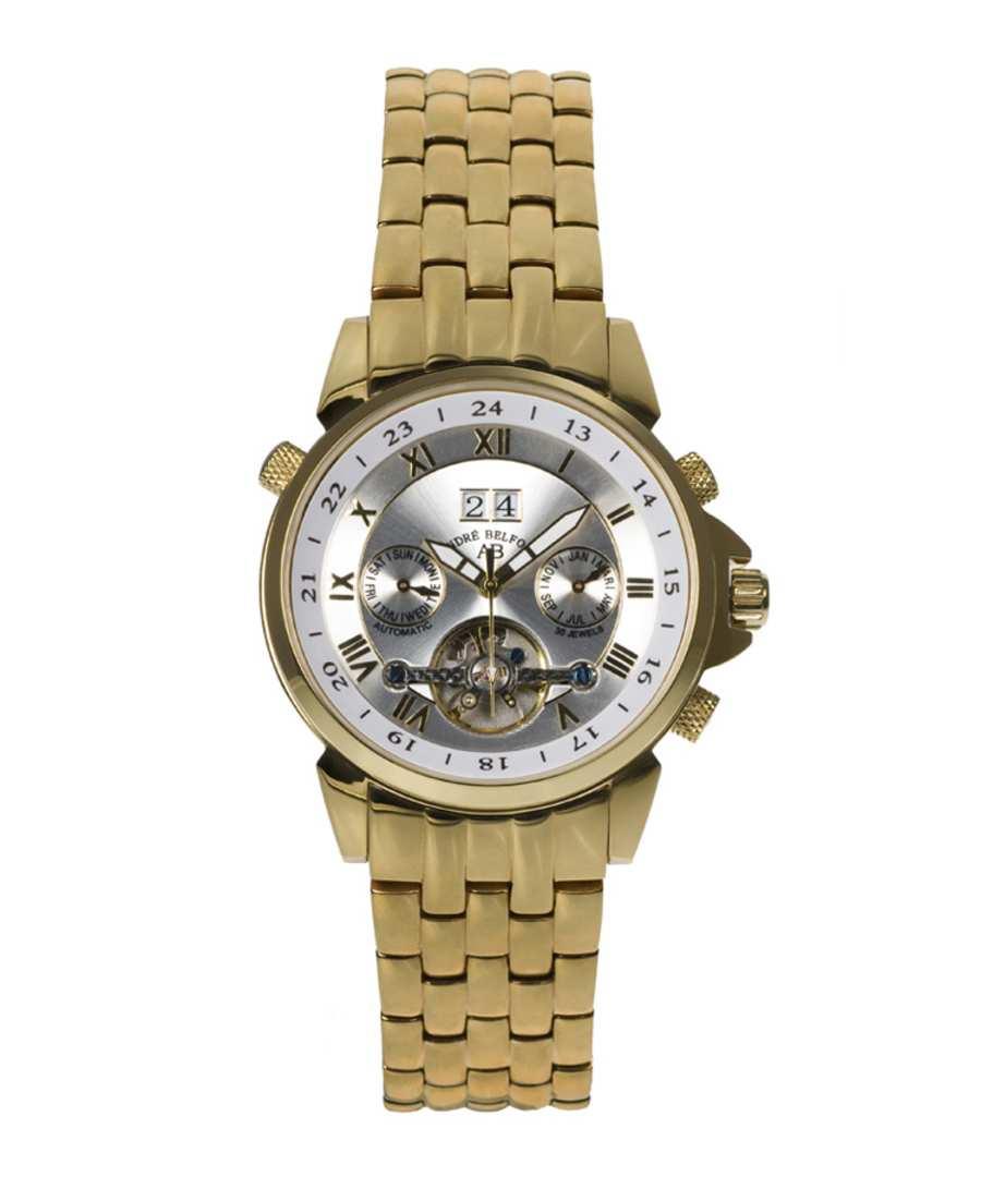 Étoile Polaire gold-tone dial watch Sale - andre belfort