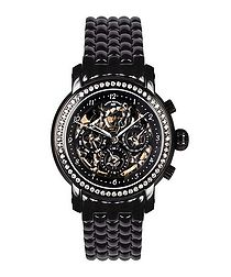 Intemporelle black ion-plated watch
