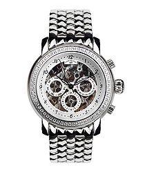 Intemporelle silver-tone steel watch