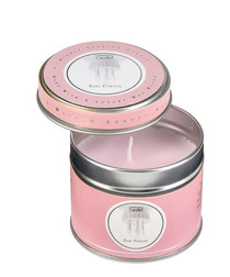 Image of Baby Powder filled tin candle