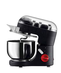 Image of Black electric stand mixer