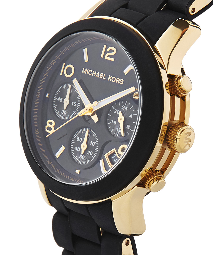 discount gold plated black silicone secretsales