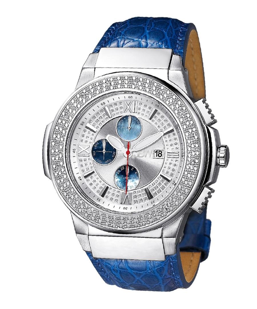 Saxon diamond & mother-of-pearl watch Sale - jbw