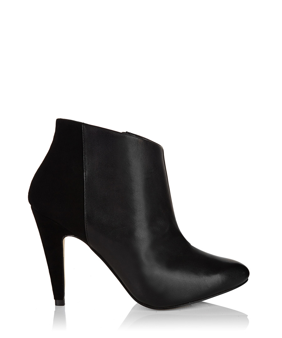 Miss KG Katie black leather ankle boots, Designer Footwear Sale ...