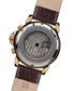 Classique Modern brown leather watch Sale - mathis montabon Sale