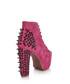 Lita spike pink suede boots Sale - Jeffrey Campbell Sale