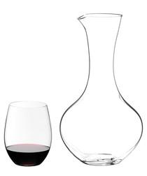 Image of 2pc O Cabernet & Merlot decanter & glass