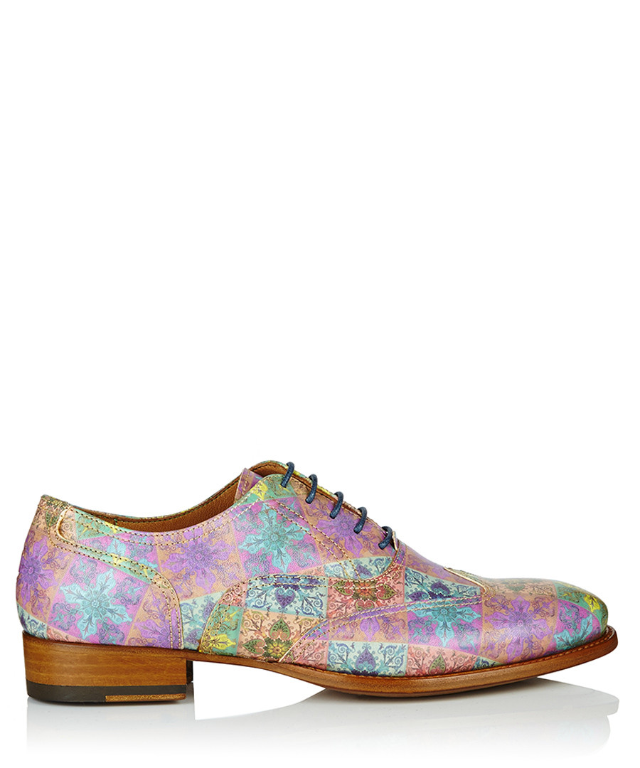 9a1ce1d32a275 Women s Malassol printed leather shoes Sale - Oliver Sweeney Sale ...