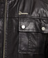 Black leather field jacket Sale - Barney's Originals Sale