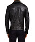 Black leather collared biker jacket Sale - Barney's Originals Sale