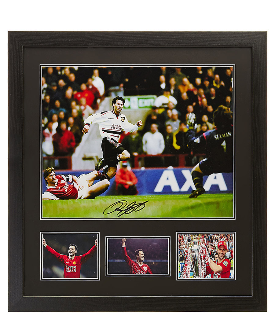 Ryan Giggs signed photo Sale - Sporting Memorabilia