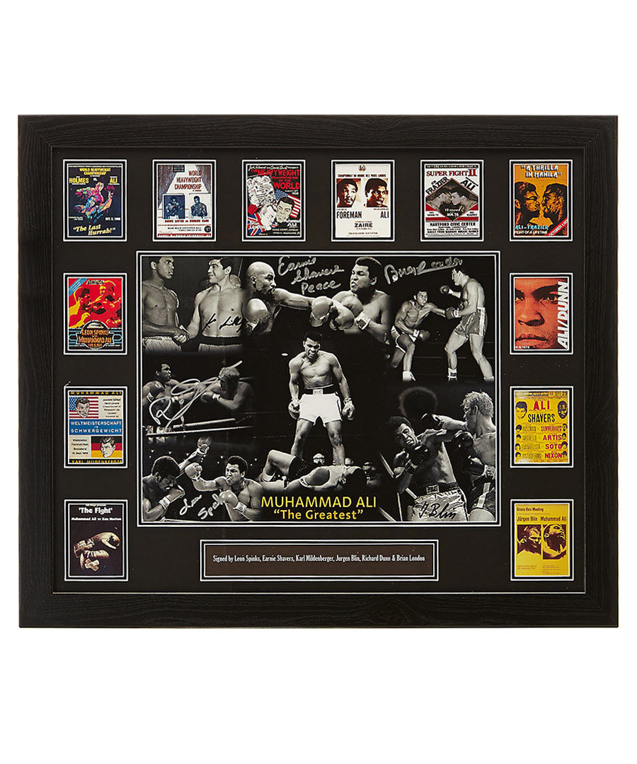 Muhammad Ali opponents signed photo Sale - Sporting Memorabilia