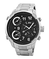 G4 stainless steel & diamond watch