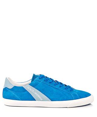 0fd27bb3eb447b Turquoise bright suede trainers Sale - Dolce   Gabbana Sale