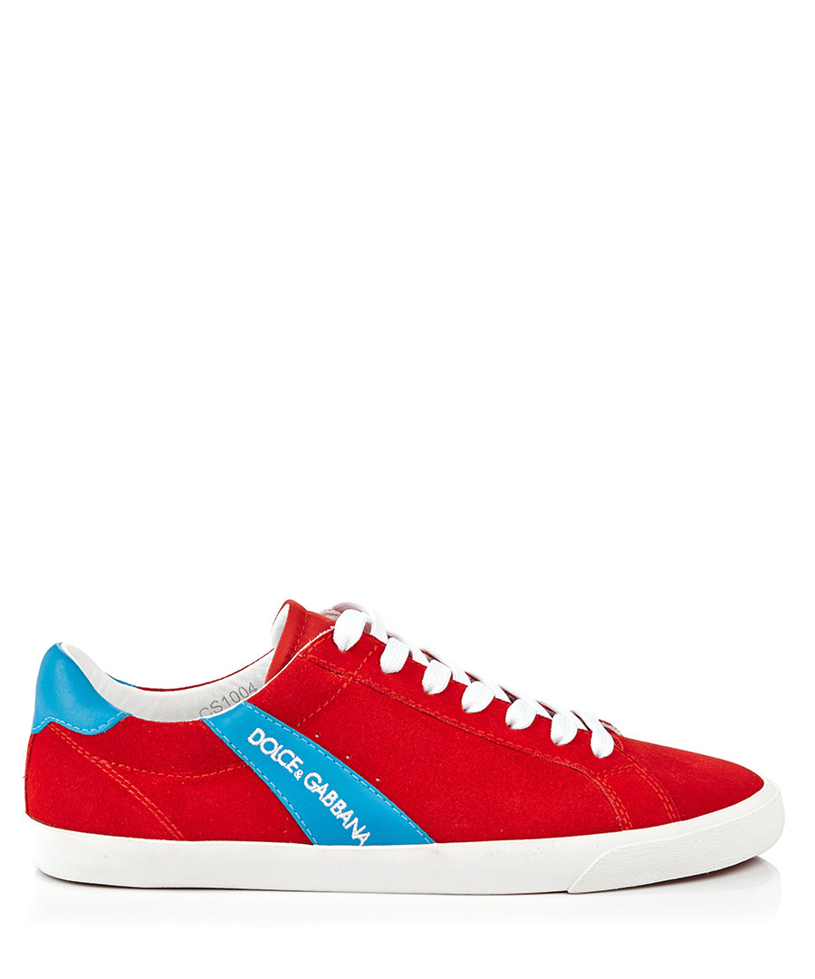 Red & blue striped trainers Sale - dolce & gabbana