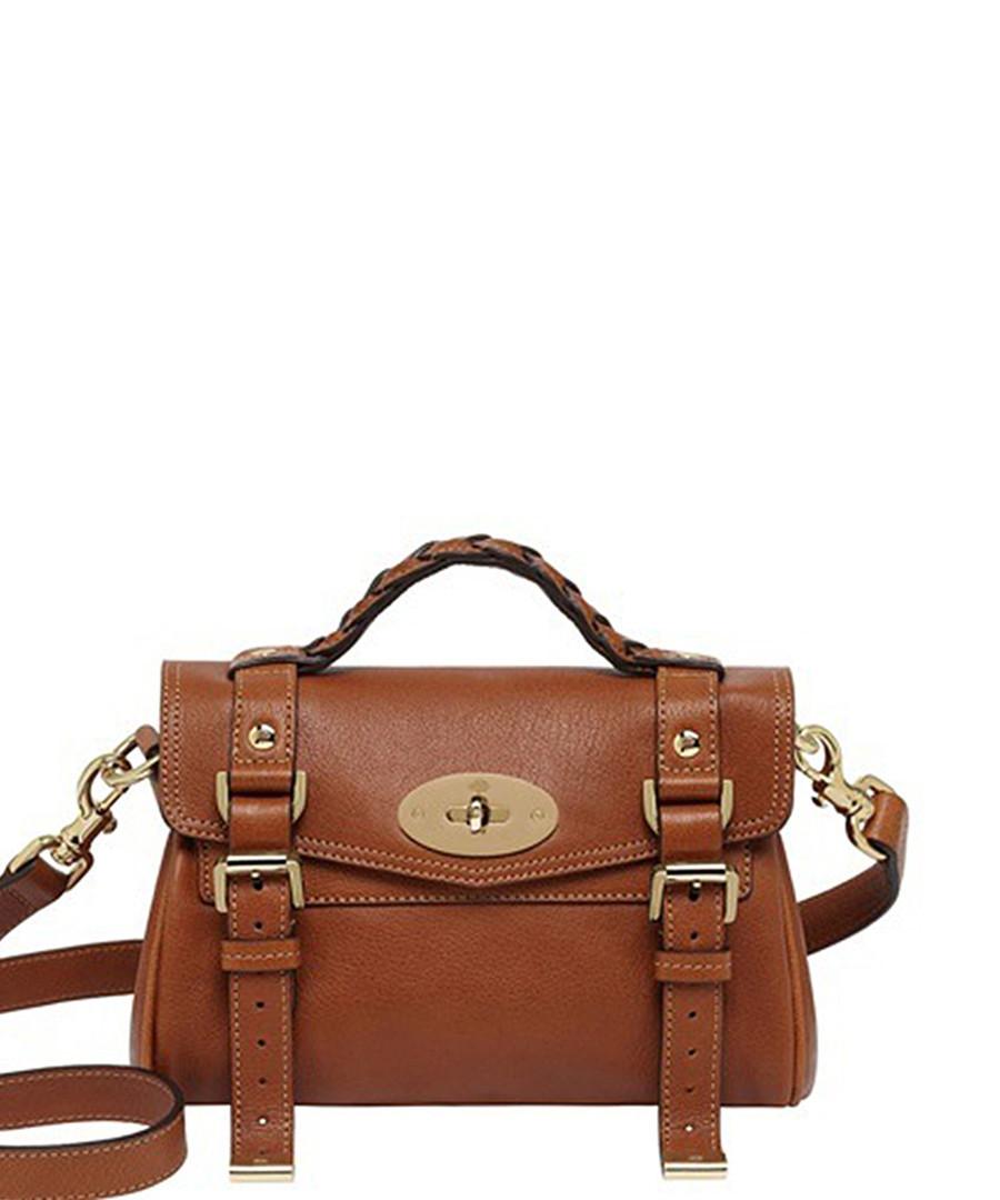 Mini Alexa brown leather grab bag Sale - Mulberry 5e3b7bbea594b