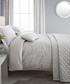 Roma silver super KS duvet cover set Sale - BEDECK Sale