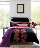 Bella multi cotton pillowcases