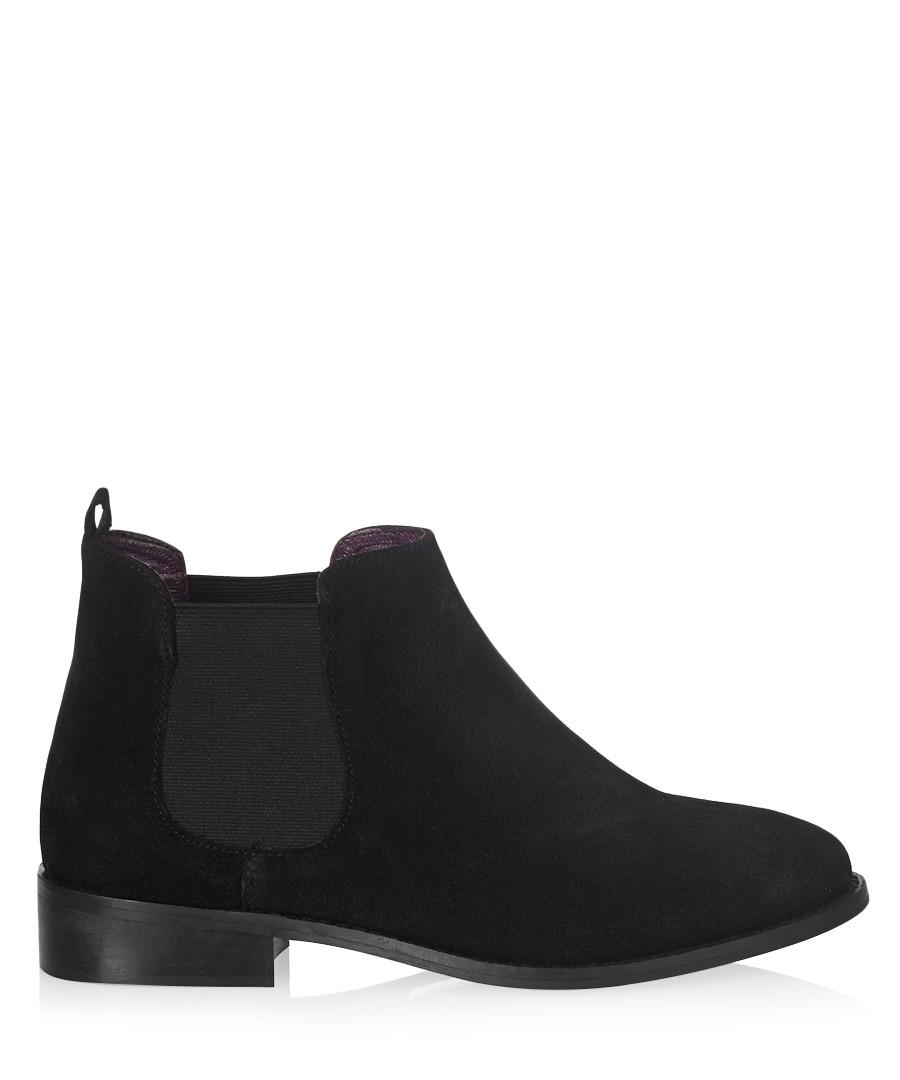 Black suede Chelsea boots  Sale - Carlton London