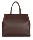 2jours brown leather tote Sale - fendi Sale