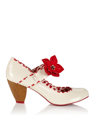 473789995 Liza patent cream bar shoes Sale - Ruby Shoo Sale