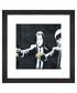Peel Fiction framed print 30cm Sale - banksy Sale