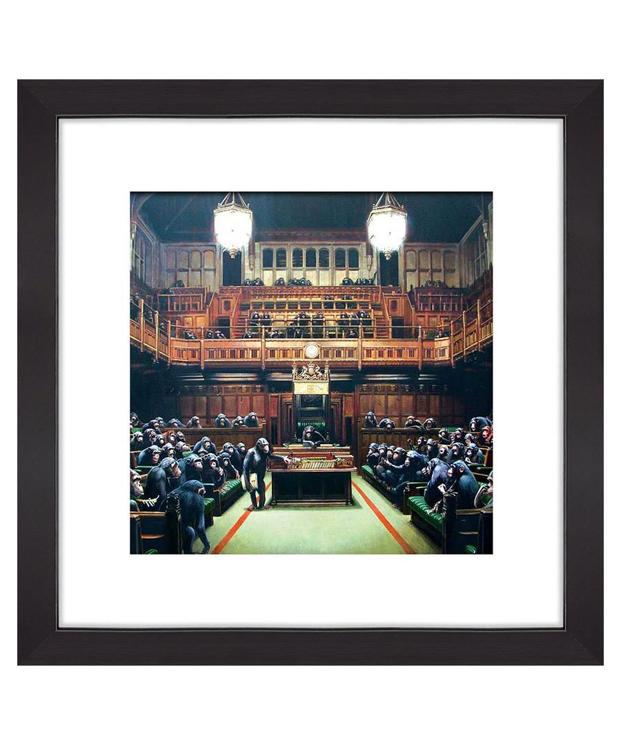 House of Parliament framed print 30cm Sale - banksy