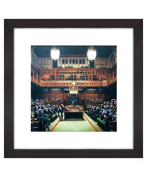 House of Parliament framed print 30cm