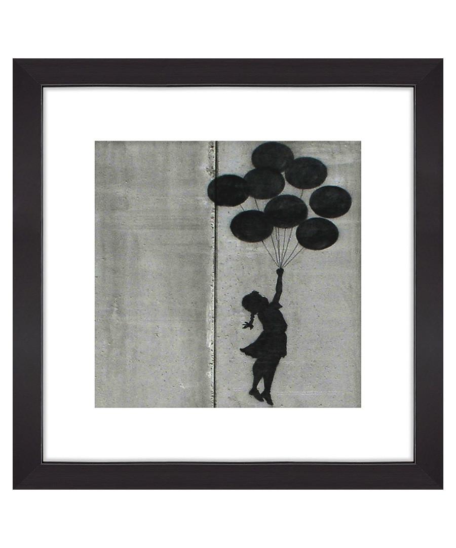 Hope Balloons framed print 30cm Sale - banksy