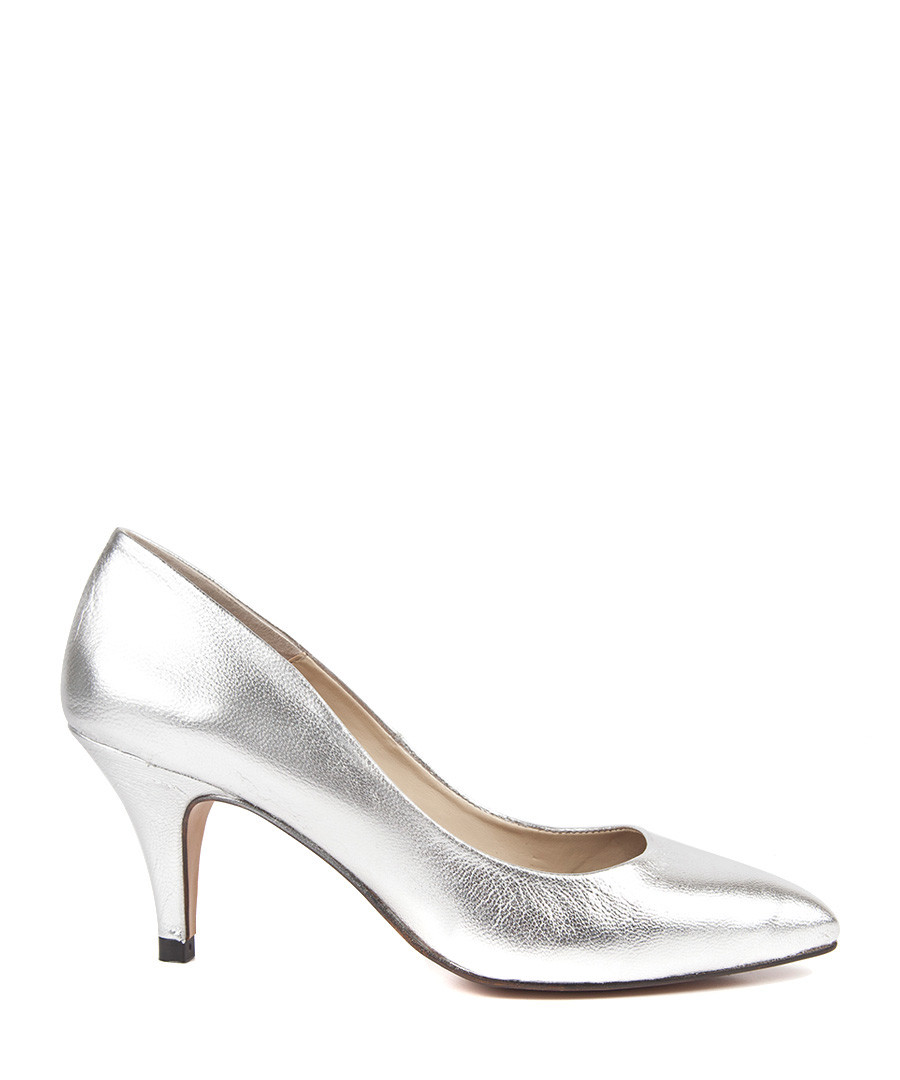Shop silver leather shoes at Neiman Marcus, where you will find free shipping on the latest in fashion from top designers.