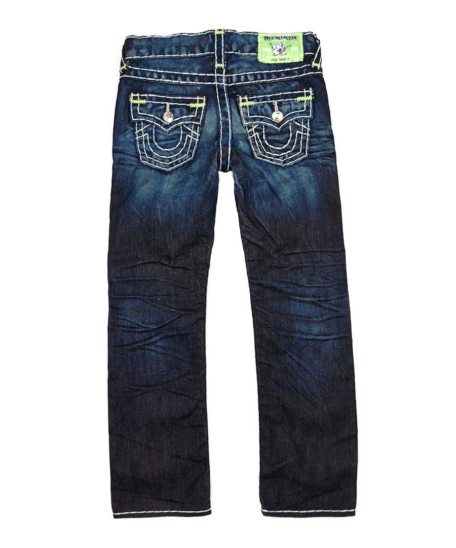 discount boy 39 s jack super t bartac blue jeans secretsales. Black Bedroom Furniture Sets. Home Design Ideas