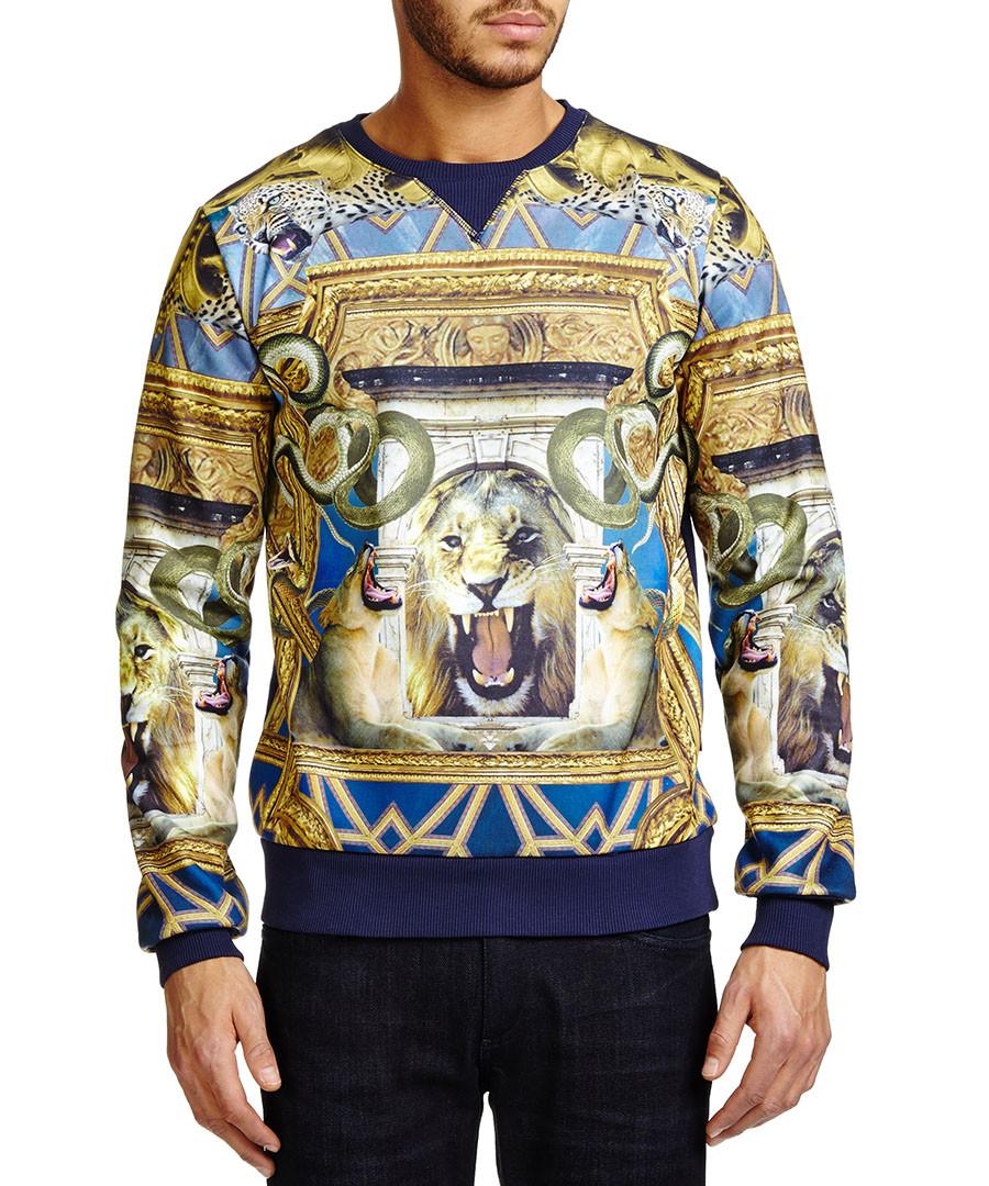 Illuminati multi-coloured sweatshirt Sale - Criminal Damage