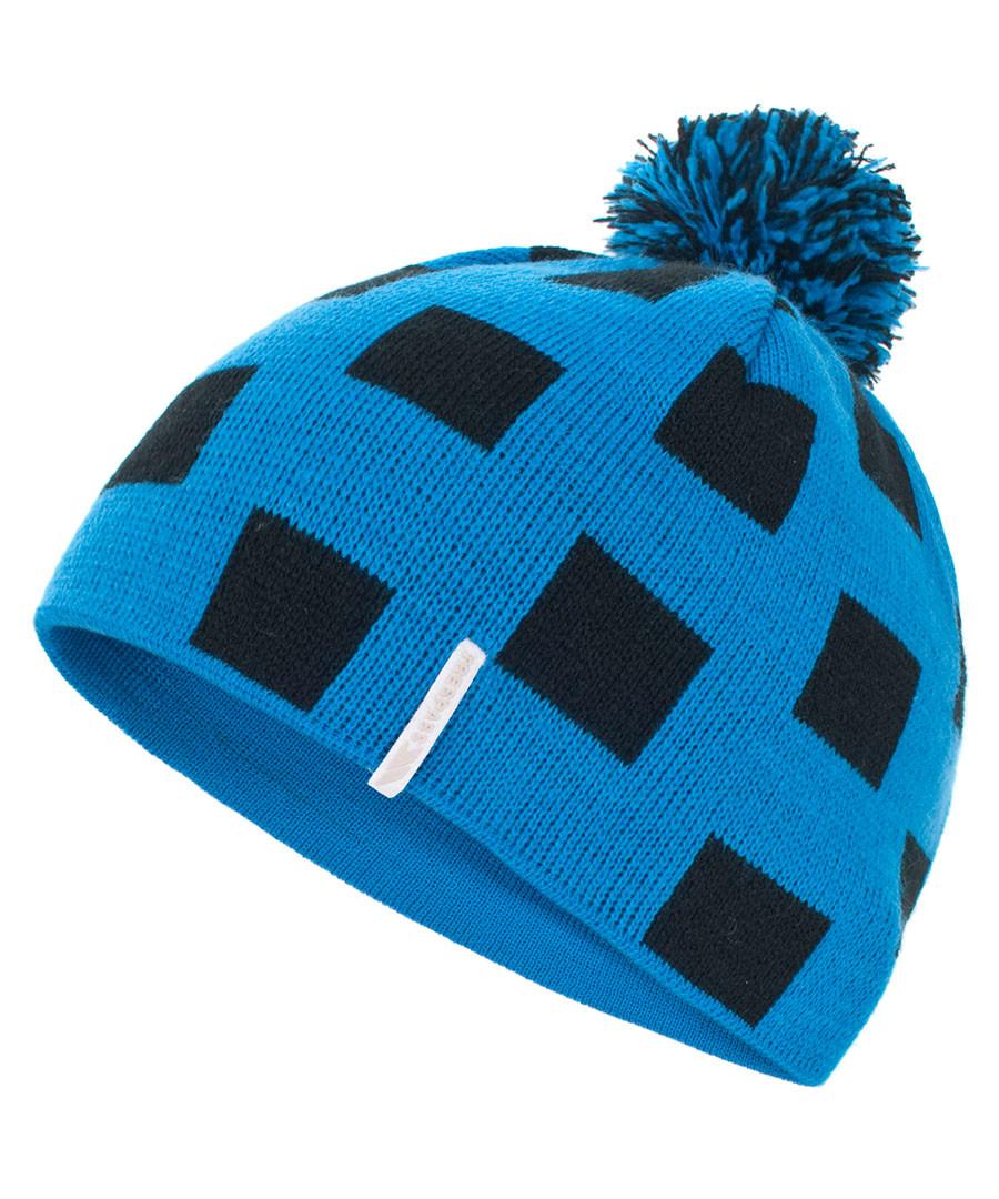 Boy's blue check bobble hat Sale - Trespass