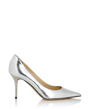 a8302a169ffc Agnes silver leather heels Sale - Jimmy Choo Sale