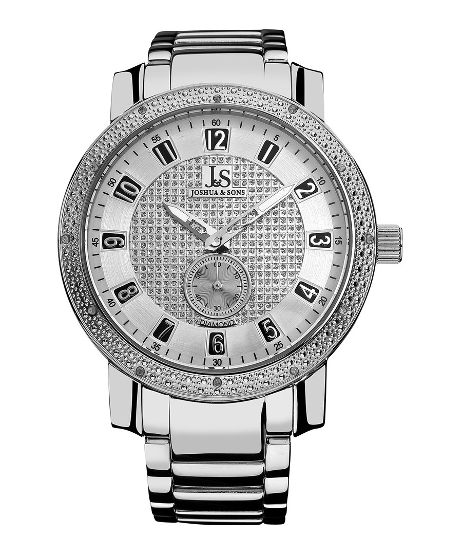 Stainless steel diamond bracelet watch Sale - Joshua & Sons