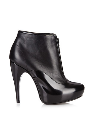 790cec8dcaa6 Black leather front zip ankle boots Sale - Lanvin Sale