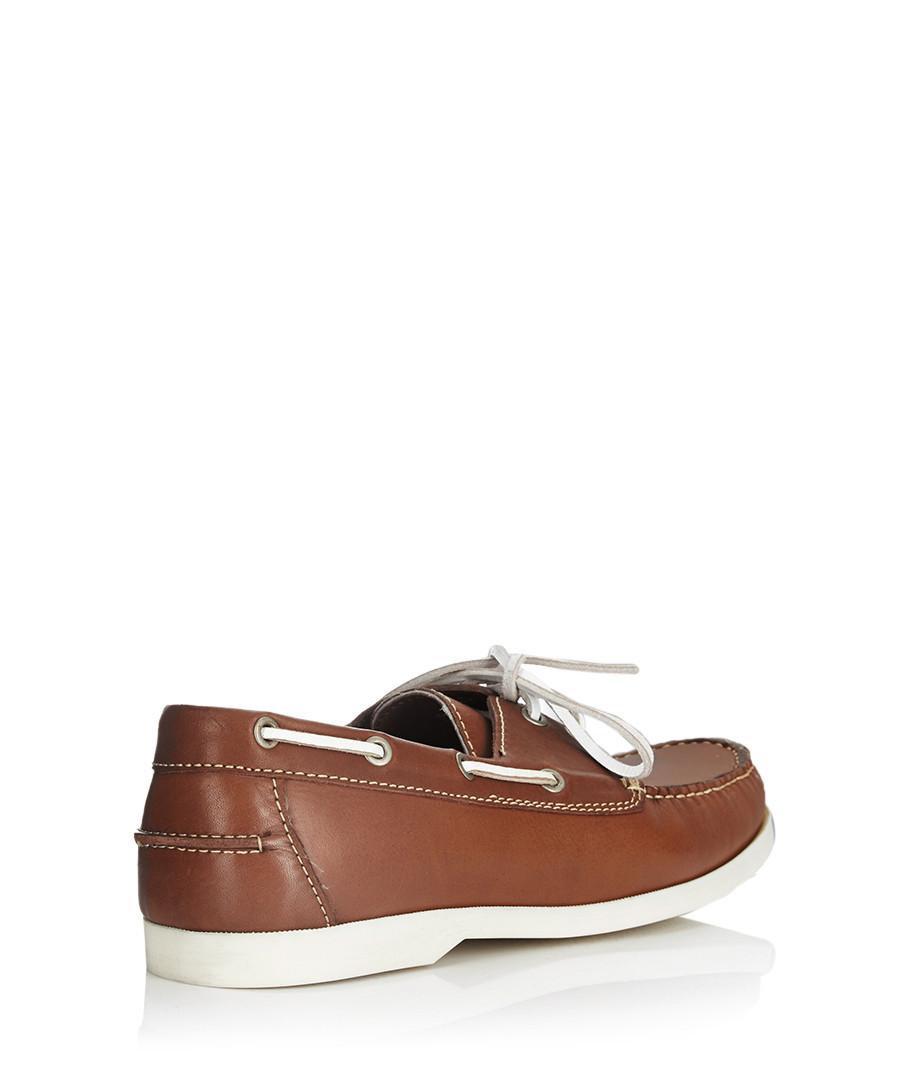 discount brown leather deck shoes secretsales