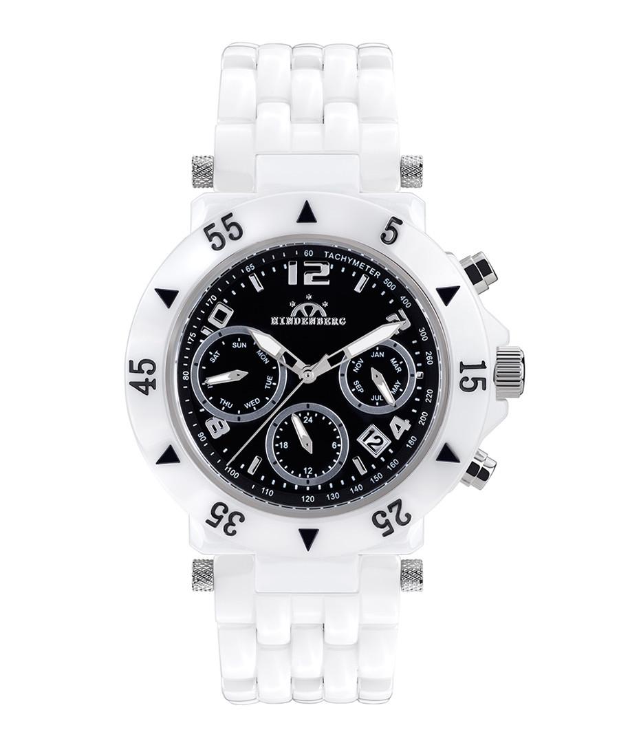 Helldriver black dial ceramic watch Sale - hindenberg