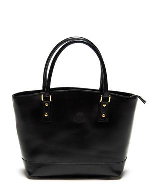 fbee356200 Black leather structured tote bag Sale - Carla Ferreri Sale