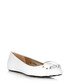 Women's Morse white leather flats Sale - jimmy choo Sale