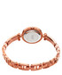 Rose gold-tone crystal tennis watch Sale - Burgi Sale