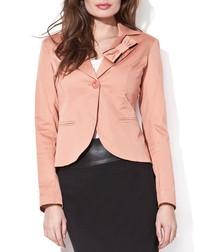 Lucia terracotta jacket