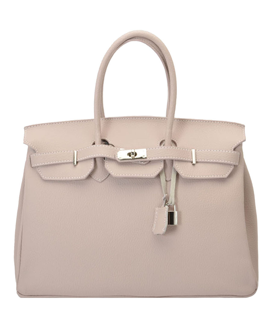 Amalia cream leather tote bag Sale - Nero Valentino