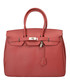 Amalia red leather tote bag Sale - Nero Valentino Sale