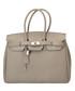 Amalia taupe leather tote bag Sale - Nero Valentino Sale
