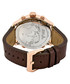 G4 18k rose gold-plated & brown watch Sale - jbw Sale