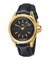 Rook 18k gold-plated & diamond watch